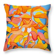Restless Mind Throw Pillow