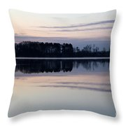 Restless Mourning Throw Pillow