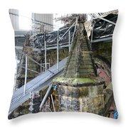 Restoration Rosslyn Chapel Throw Pillow