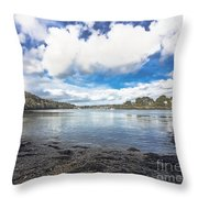 Restronguet Passage Hdr Throw Pillow
