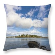 Restronguet Point Cornwall Throw Pillow