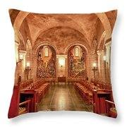 Resurrection Chapel Throw Pillow