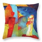 Resurrection Of The Magi Throw Pillow