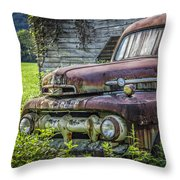 Retire In Style Throw Pillow