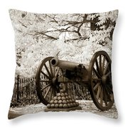 Retired From Honorable Service Throw Pillow