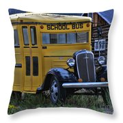 Retired From Service Throw Pillow