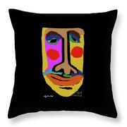 Retired Make Up Artist Throw Pillow