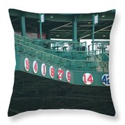 Retired Numbers Throw Pillow