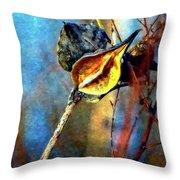 Retirement Watercolor Throw Pillow