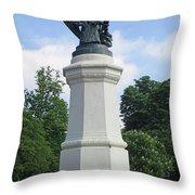 Retiro Park 43 Throw Pillow