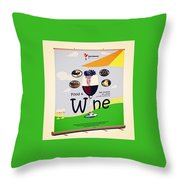 Retractable Banners- Effective Marketing Strategy Throw Pillow