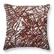 Retreating - Tile Throw Pillow