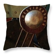 Classic Desk Fan  Throw Pillow by Michelle Calkins