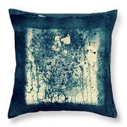 Retro Inkt Work Throw Pillow