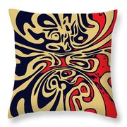 Retroform  Throw Pillow