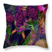 Return Of Paradise Glass Throw Pillow by Joseph Mosley