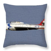 Return Of The F 84 Throw Pillow