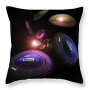 Return Of The Seven Throw Pillow