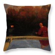 Returning Home 1887 Throw Pillow