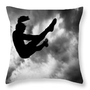 Returning To Earth Throw Pillow by Bob Orsillo