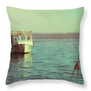 Returning To Port Throw Pillow