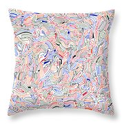 Reunification Throw Pillow