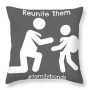 Reunite Them Throw Pillow