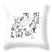 Reunited Throw Pillow