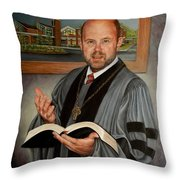 Rev. Jeff Garrison Throw Pillow