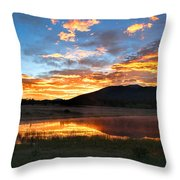 Reveille Throw Pillow