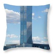 Revel Casino In Atlantic City, New Jersey Throw Pillow