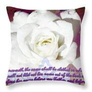 Revelation 3 5 Throw Pillow