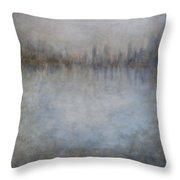 Revelations Abstract Art Throw Pillow