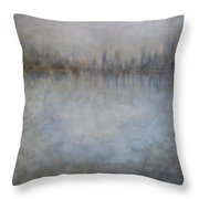 Revelations Abstract Art Throw Pillow