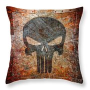 Revenge Will Be Mine Throw Pillow