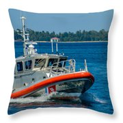 Revenue Marine Throw Pillow