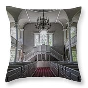 Reverence - Bennington First Church Throw Pillow