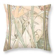 Reverie Du Soir Throw Pillow