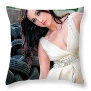 Reverie Palm Springs Throw Pillow