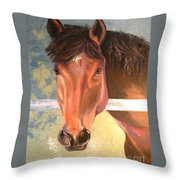 Reverie - Quarter Horse Throw Pillow