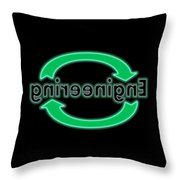Reverse Engineering Throw Pillow