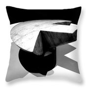 Revisiting Brancusi - Flying Turtle Throw Pillow