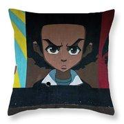 Revolt Throw Pillow