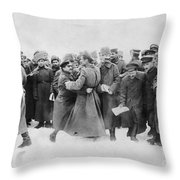 Revolution Of 1917 Throw Pillow
