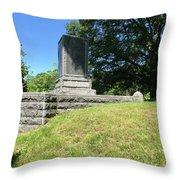 Revolutionary War Monument  Throw Pillow