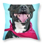 Rex 5 Throw Pillow