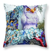 Rex Mardi Gras Parade Iv Throw Pillow