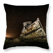 Reyes Shipwreck Throw Pillow