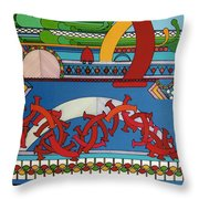 Rfb0403 Throw Pillow