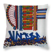Rfb0410 Throw Pillow